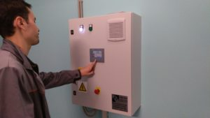 Вакуумная станция с частотным регулированием